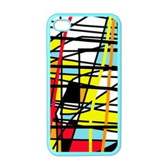 Casual Abstraction Apple Iphone 4 Case (color) by Valentinaart