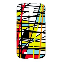 Casual Abstraction Samsung Galaxy S4 I9500/i9505 Hardshell Case by Valentinaart