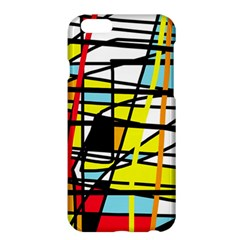 Casual Abstraction Apple Iphone 6 Plus/6s Plus Hardshell Case by Valentinaart