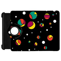 Colorful dots Kindle Fire HD 7  by Valentinaart