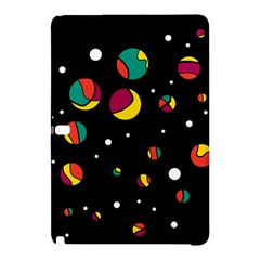 Colorful Dots Samsung Galaxy Tab Pro 12 2 Hardshell Case by Valentinaart