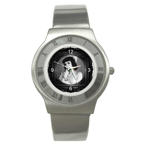 Framed Watch  By Aly Goo   Stainless Steel Watch   Fknattzu1n0d   Www Artscow Com Front