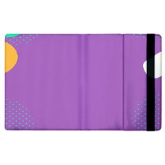 Purple Apple Ipad 3/4 Flip Case by AnjaniArt