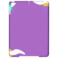 Purple Apple Ipad Pro 9 7   Hardshell Case by AnjaniArt