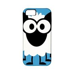 Sheep Animals Bleu Apple Iphone 5 Classic Hardshell Case (pc+silicone) by AnjaniArt