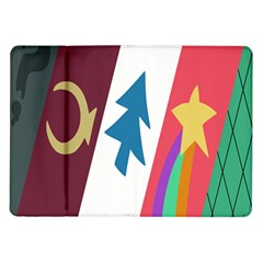 Star Color Samsung Galaxy Tab 10.1  P7500 Flip Case by AnjaniArt