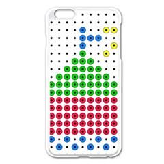 Ship Apple iPhone 6 Plus/6S Plus Enamel White Case