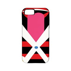 Scissors Tongue Apple Iphone 5 Classic Hardshell Case (pc+silicone) by AnjaniArt