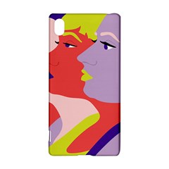 Three Beautiful Face Sony Xperia Z3+ by AnjaniArt