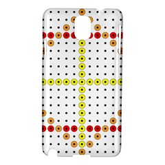 Vertical Horizontal Samsung Galaxy Note 3 N9005 Hardshell Case by AnjaniArt