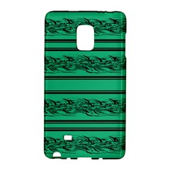 Green Barbwire Galaxy Note Edge by Valentinaart