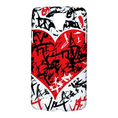 Red Hart   Graffiti Style Galaxy S4 Active by Valentinaart