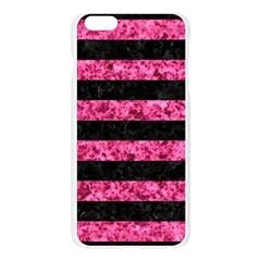 STR2 BK-PK MARBLE Apple Seamless iPhone 6 Plus/6S Plus Case (Transparent) by trendistuff