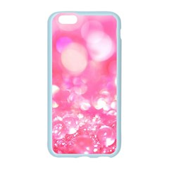 Cute pink transparent diamond  Apple Seamless iPhone 6/6S Case (Color) by Brittlevirginclothing