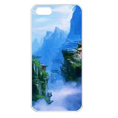 Fantasy Nature  Apple Iphone 5 Seamless Case (white) by Brittlevirginclothing