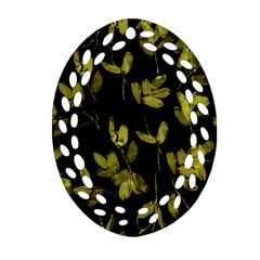 Leggings Oval Filigree Ornament (2 Side)  by dflcprints
