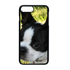 Boston Terrier Puppy Apple iPhone 7 Plus Seamless Case (Black)