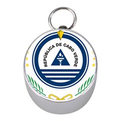 National Emblem of Cape Verde Mini Silver Compasses by abbeyz71