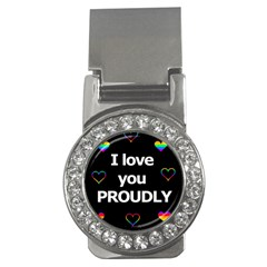 Proudly Love Money Clips (cz)  by Valentinaart