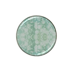 Light Circles, Mint Green Color Hat Clip Ball Marker by picsaspassion