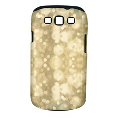 Light Circles, Brown Yellow Color Samsung Galaxy S Iii Classic Hardshell Case (pc+silicone) by picsaspassion