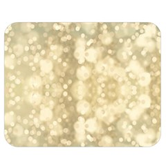 Light Circles, Brown Yellow Color Double Sided Flano Blanket (medium)  by picsaspassion