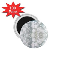 Light Circles, Blue Gray White Colors 1 75  Magnets (100 Pack)  by picsaspassion