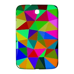 Colorful Triangles, Oil Painting Art Samsung Galaxy Note 8 0 N5100 Hardshell Case  by picsaspassion