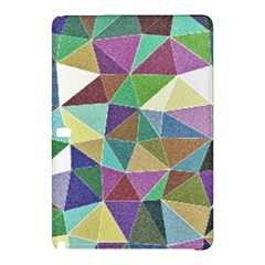 Colorful Triangles, Pencil Drawing Art Samsung Galaxy Tab Pro 12 2 Hardshell Case by picsaspassion