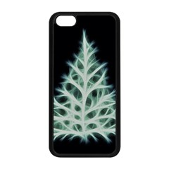 Christmas Fir, Green And Black Color Apple Iphone 5c Seamless Case (black) by picsaspassion