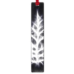 Christmas Fir, Black And White Large Book Marks by picsaspassion