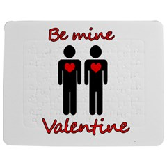 Be Mine Valentine Jigsaw Puzzle Photo Stand (rectangular) by Valentinaart