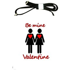 Be My Valentine 2 Shoulder Sling Bags by Valentinaart