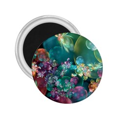 Butterflies, Bubbles, And Flowers 2 25  Magnets by WolfepawFractals
