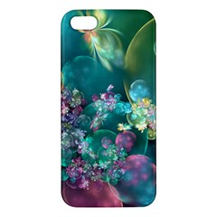 Butterflies, Bubbles, And Flowers Iphone 5s/ Se Premium Hardshell Case by WolfepawFractals