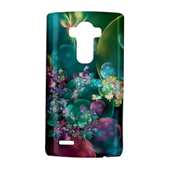 Butterflies, Bubbles, And Flowers Lg G4 Hardshell Case by WolfepawFractals