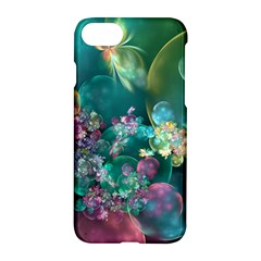 Butterflies, Bubbles, And Flowers Apple Iphone 7 Hardshell Case by WolfepawFractals