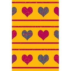 Decorative Harts Pattern 5 5  X 8 5  Notebooks by Valentinaart