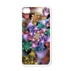 Pong Synth Curl Amorina 02 Whiskey 01 Peggi 05 Pstl Pz Pix Apple Iphone 4 Case (white) by WolfepawFractals