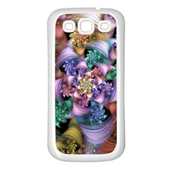 Pong Synth Curl Amorina 02 Whiskey 01 Peggi 05 Pstl Pz Pix Samsung Galaxy S3 Back Case (white) by WolfepawFractals