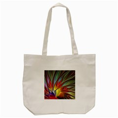 Fractal Bird Of Paradise Tote Bag (cream) by WolfepawFractals