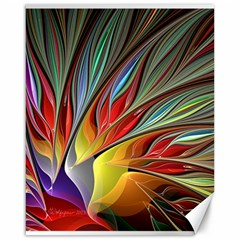 Fractal Bird Of Paradise Canvas 16  X 20  by WolfepawFractals