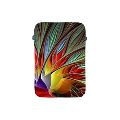Fractal Bird Of Paradise Apple Ipad Mini Protective Soft Case by WolfepawFractals