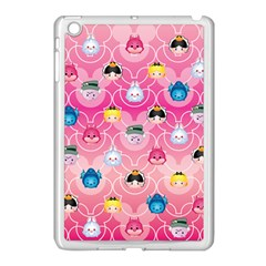 Alice In Wonderland Apple Ipad Mini Case (white) by reddyedesign