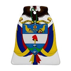 Coat Of Arms Of Colombia Bell Ornament (2 Sides)