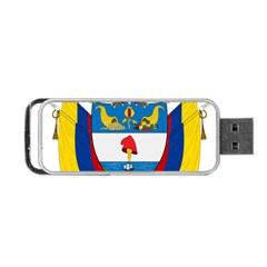 Coat Of Arms Of Colombia Portable Usb Flash (one Side) by abbeyz71