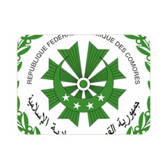 National Seal Of The Comoros Double Sided Flano Blanket (mini)  by abbeyz71