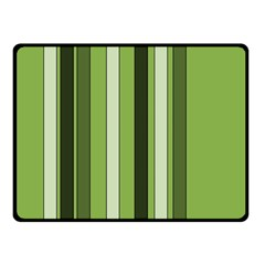 Greenery Stripes Pattern 8000 Vertical Stripe Shades Of Spring Green Color Double Sided Fleece Blanket (small)  by yoursparklingshop