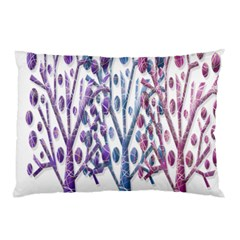 Magical pastel trees Pillow Case (Two Sides)