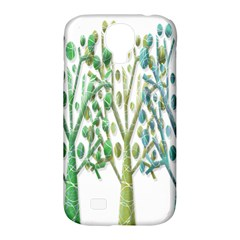 Magical Green Trees Samsung Galaxy S4 Classic Hardshell Case (pc+silicone) by Valentinaart